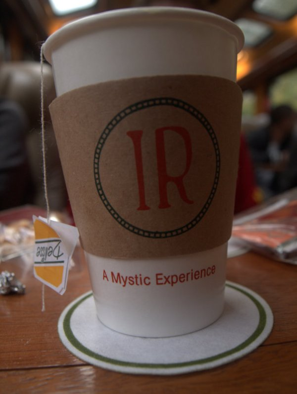 """They market the whole thing as a""""Mystical Experience"""" and I ATE IT UP."""